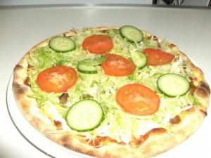 (35a) Kebab Pizza