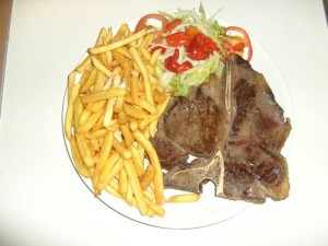 (37) T-Bone Steak