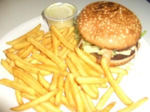 (54a) Jumbo Cheese Burger Menu