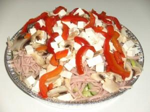 (65) Pizzafyld Salat